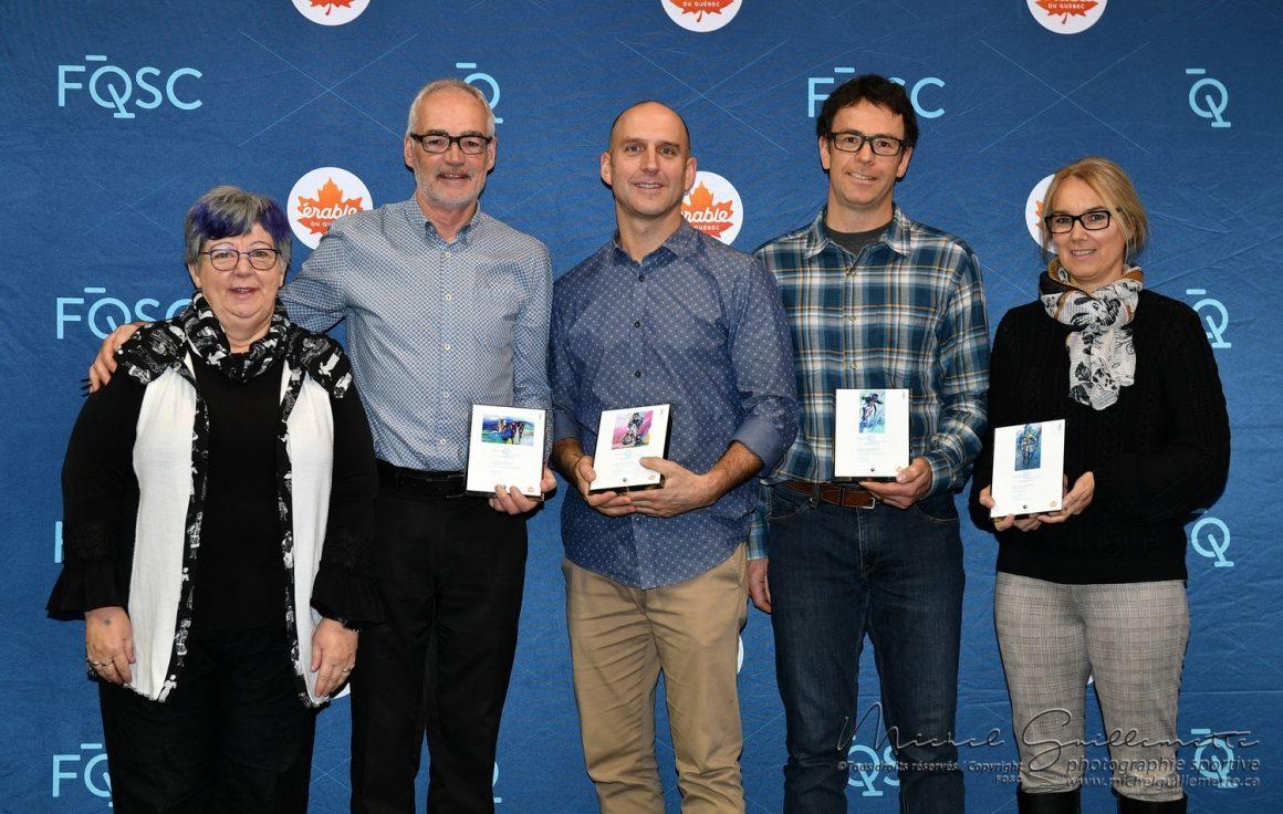 Le CCD honoré lors du Mérite Cycliste Québécois